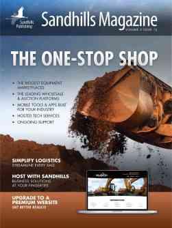 Sandhills Magazine Cover
