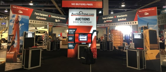Sandhills Global AuctionTime Booth